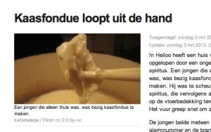 Bericht op NOS.nl 3 maart 2013