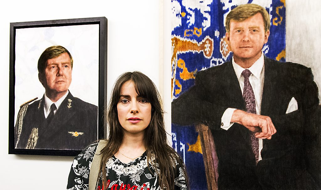Schetsontwerpen Iris van Dongen van ZKH Koning Willem-Alexander