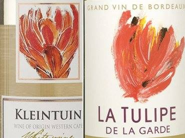Tulp kleintuin en tulp La Tulipe