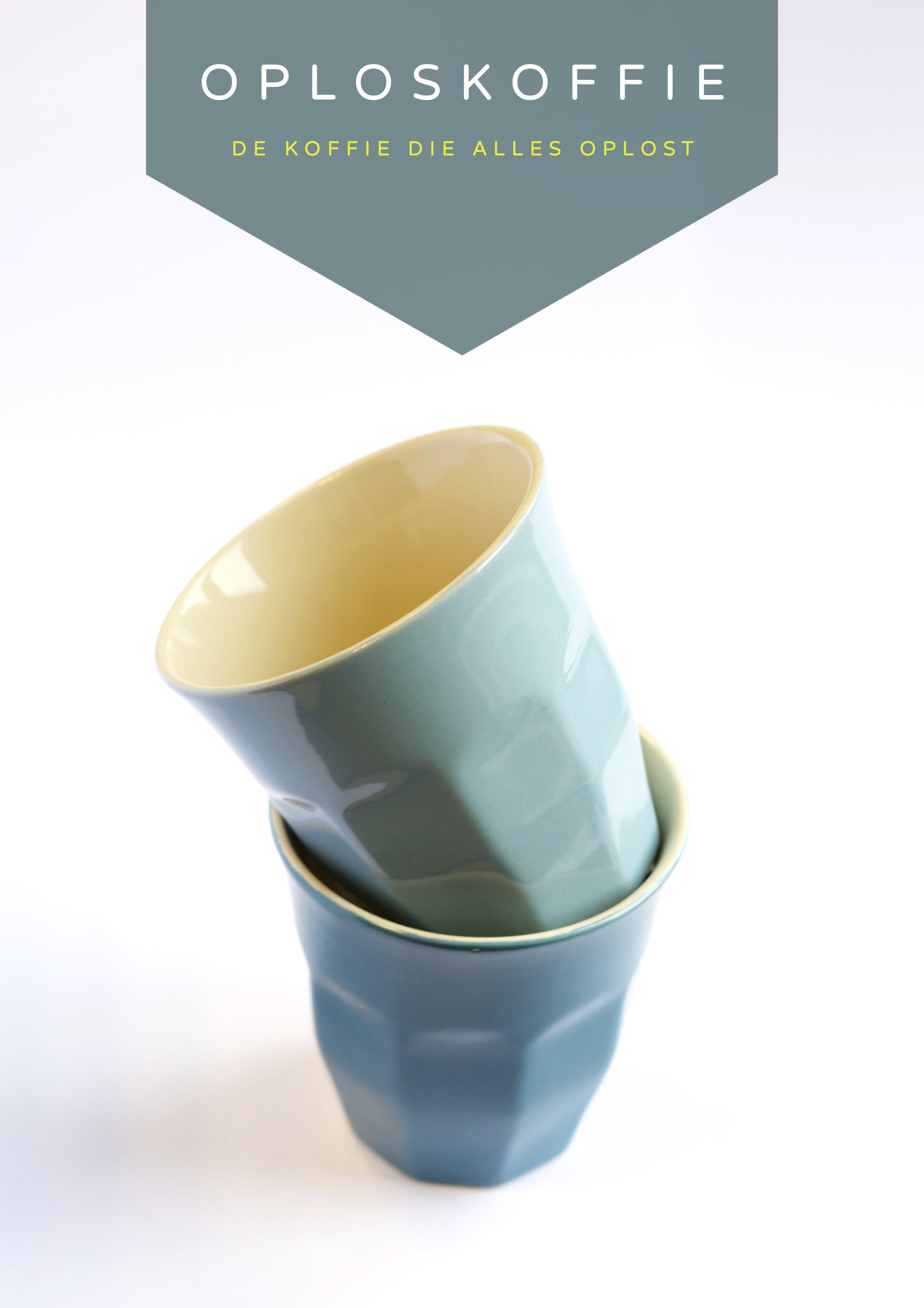 Oploskoffie = de koffie die (bijna) alles oplost
