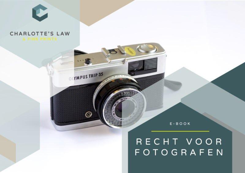 e-book Auteursrecht voor Fotografen