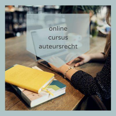Online Cursus Auteursrecht