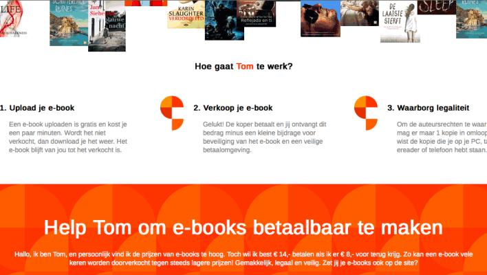 Tom Kabinet tweedehands e-books