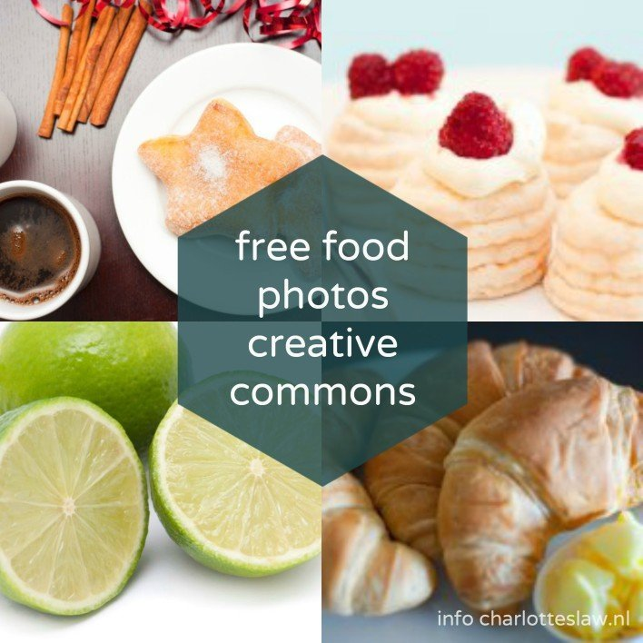Free Food Photos met CC BY licentie