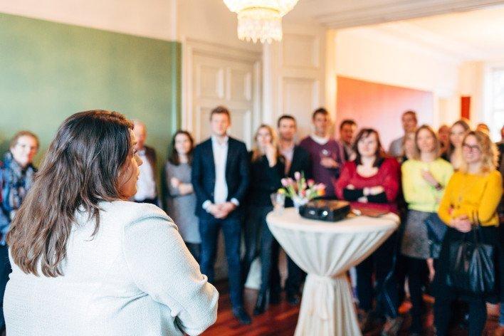 Boekpresentatie Wetboek voor Bloggers in Huis ten Haghe, foto: Arnold Reyneveld