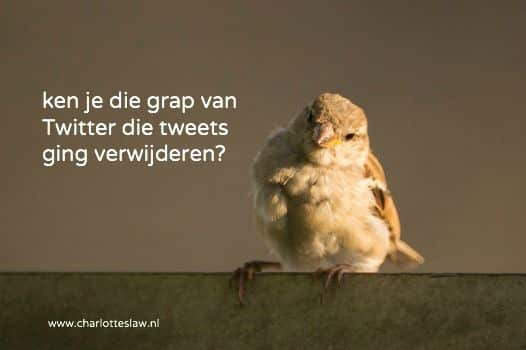 Twitter gaat tweets verwijderen die inbreuk maken op auteursrecht