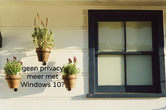 Let op de privacy instellingen bij Windows 10