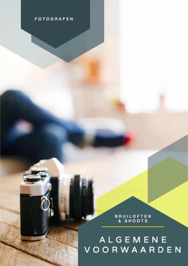 Algemene Voorwaarden Fotografie Consumenten