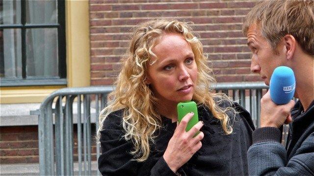 Portret Sabine Uitslag en RTVoost door Roel Wijnants