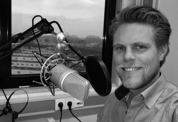 Mister Podcast Jelle Drijver