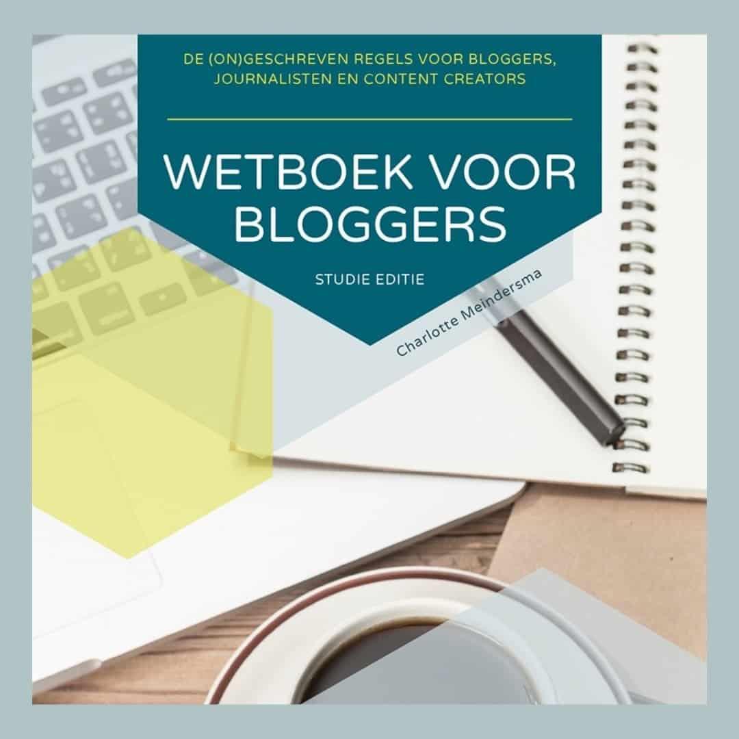Wetboek voor Bloggers - studie editie