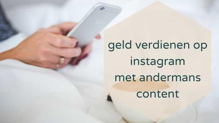 Zo kun je (il)legaal geld verdienen met Instagram