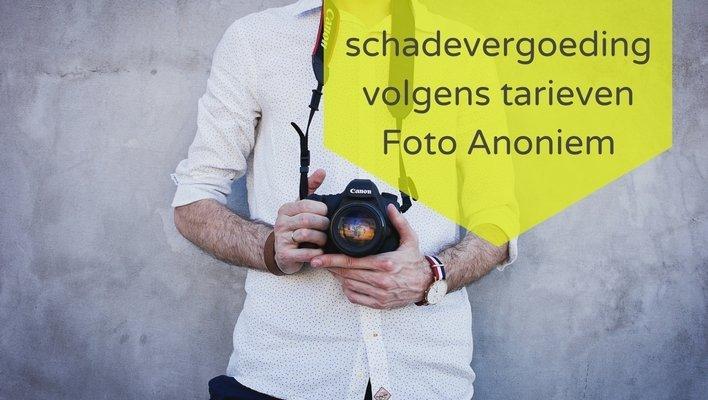 fotografie en auteursrecht: schadevergoeding volgens tarieven Foto Anoniem
