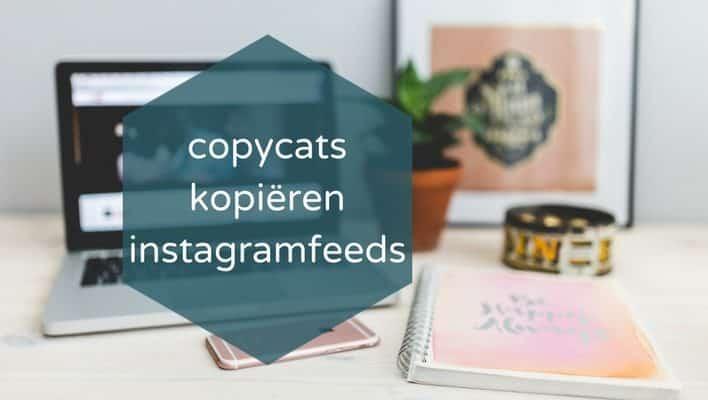 Auteursrecht: Wat als een copycat jouw instagram feed namaakt?