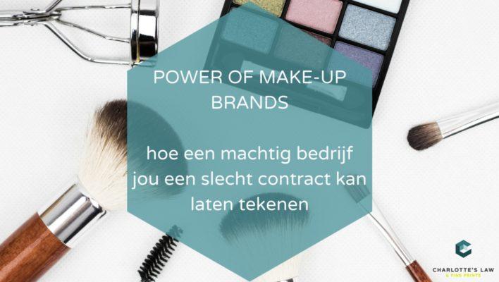 Power of Make Up Brands – Nikkie Tutorials tekende mogelijk wurgcontract