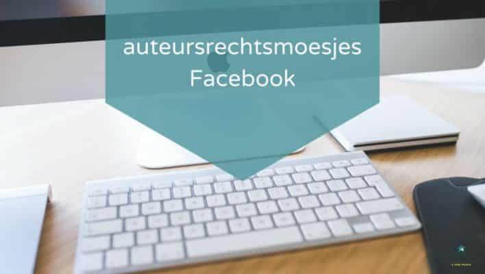 auteursrecht smoesjes Facebook
