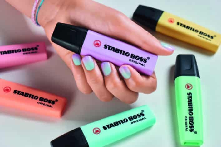 Stabilo Pastel Marker