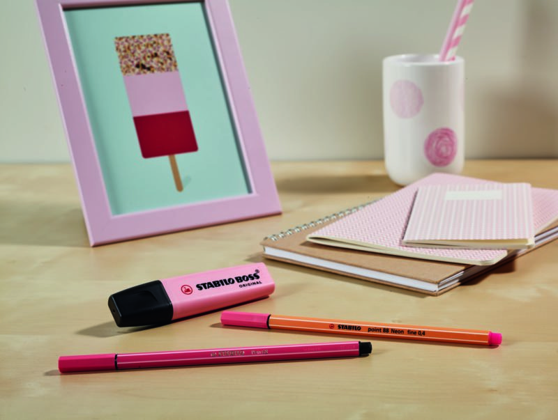 Stabilo Pastel Highlighter Markers