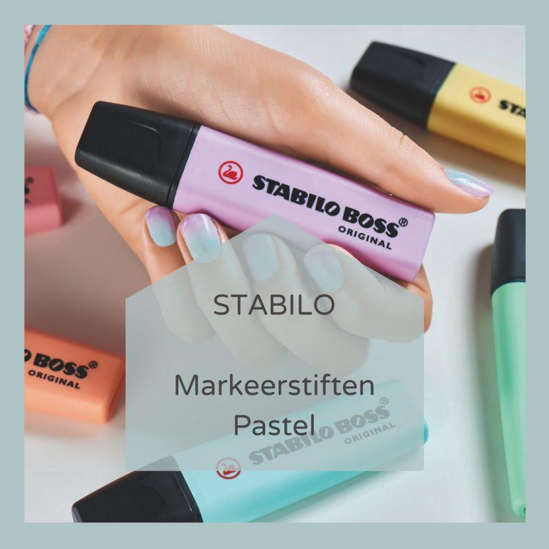Markeerstiften Pastel Stabilo