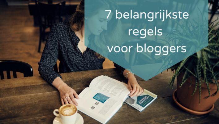 Masterclass Bloggen 7 belangrijkste regels voor bloggers