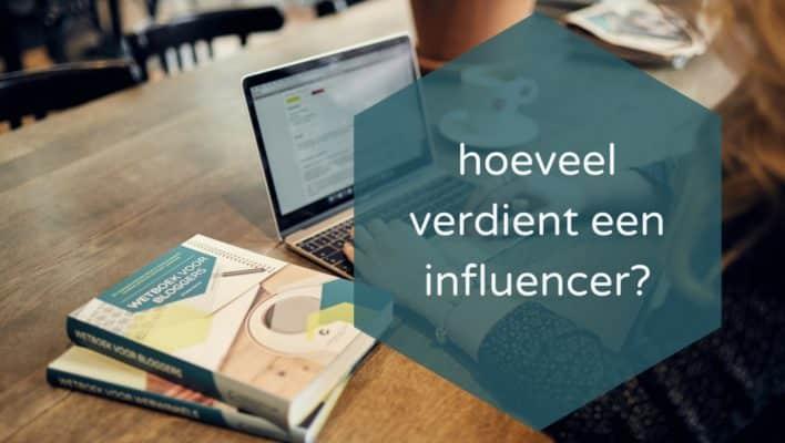 Hoeveel verdient een influencer?