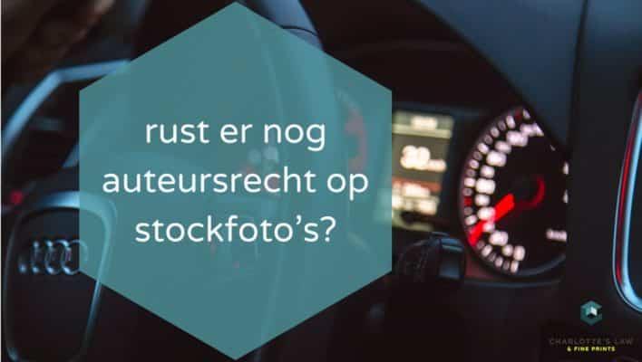 Geen auteursrecht op stockfoto's? [Longread]