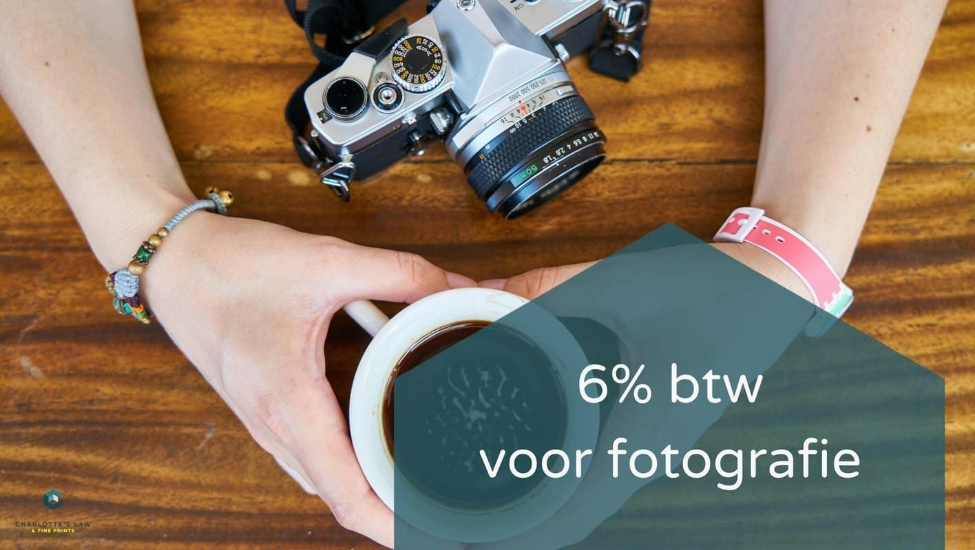 6% btw voor fotografie