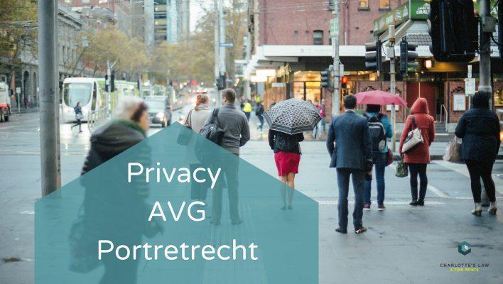 Over Privacy, de AVG en het Portretrecht voor Fotografen
