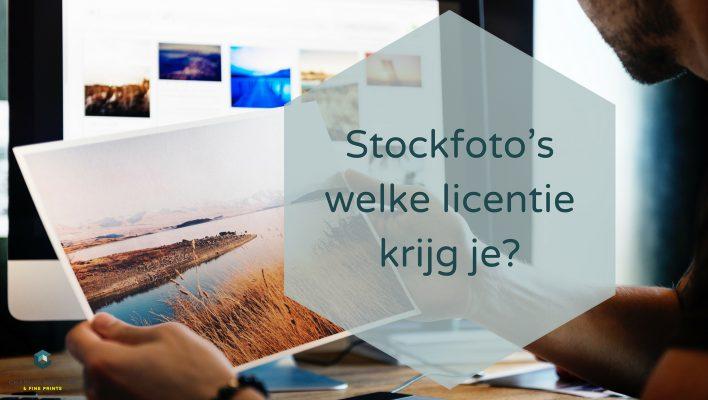 Stockfoto welke licentie krijg je