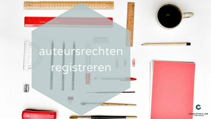auteursrecht of copyright registreren