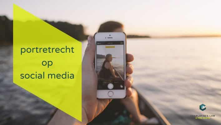 portretrecht social media