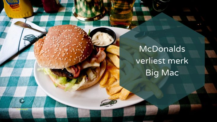 Mc Donald's verliest in de EU het merk Big Mac
