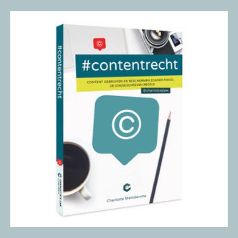 #Contentrecht - Het Boek