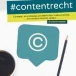 #contentrecht boek voorkant