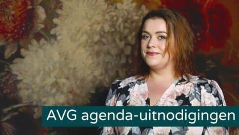 agenda uitnodigingen en de AVG