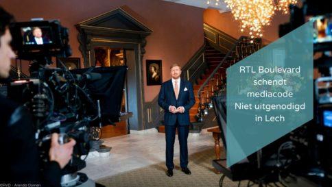 RTL Boulevard schendt mediacode Niet uitgenodigd in Lech