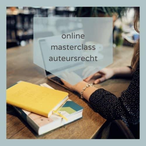 Online Masterclass Auteursrecht