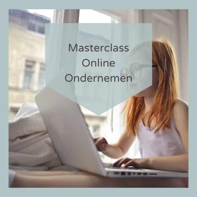 Masterclass Online Ondernemen jong