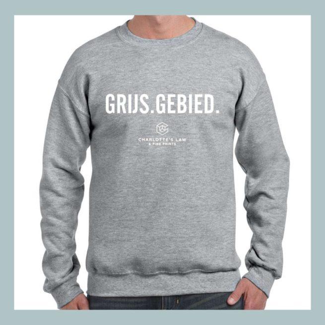 Trui Unisex GRIJS.GEBIED.