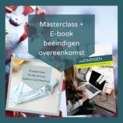 Masterclass ondernemen tijdens corona en ebook Beëindigen Overeenkomst van Opdracht