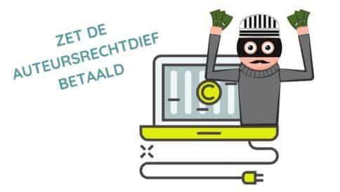 Online training - Zet de auteursrechtdief betaald