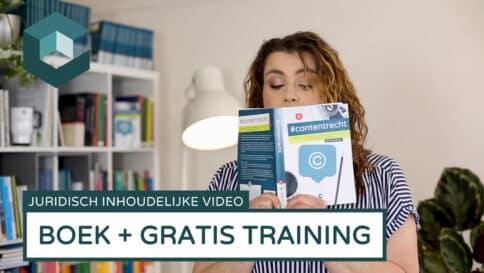 Een gratis training bij een boek mag niet