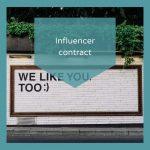 Influencercontract